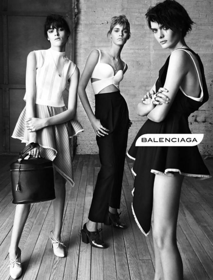 Balenciaga por Steven Meisel