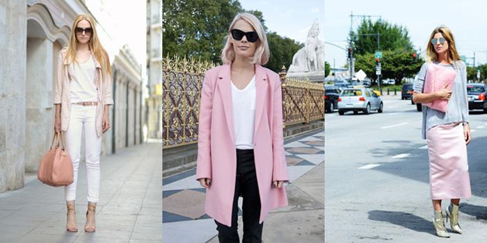 Streetstyle rosa palo