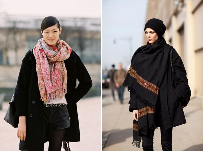 Apuesta por las bufandas, pañuelos, fulares...