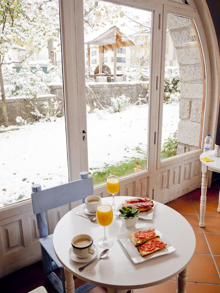 Desayuno en La Viña de San Rafael