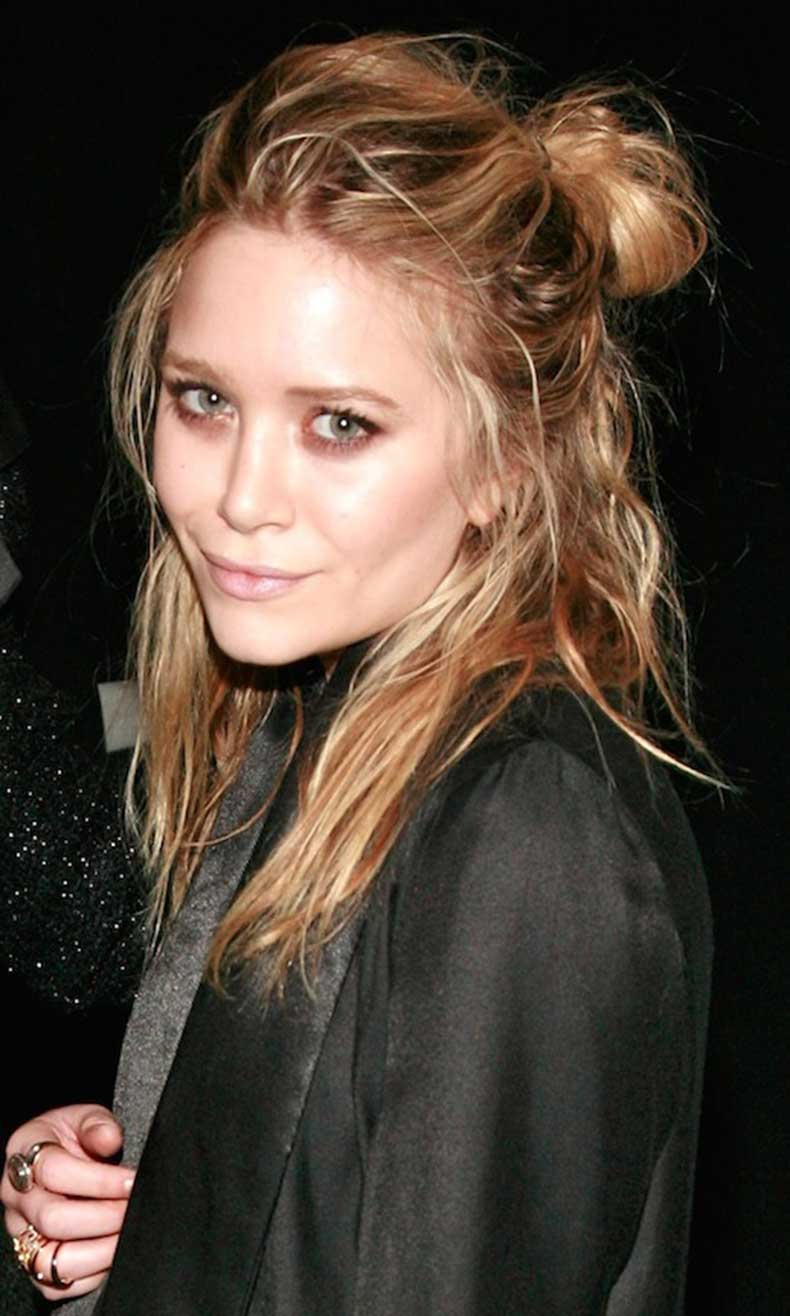 17-Le-Fashion-Blog-20-Inspiring-Half-Up-Top-Knot-Hairstyles-Celebrity-Mary-Kate-Olsen-Wavy-Textured-Hair-Bun1