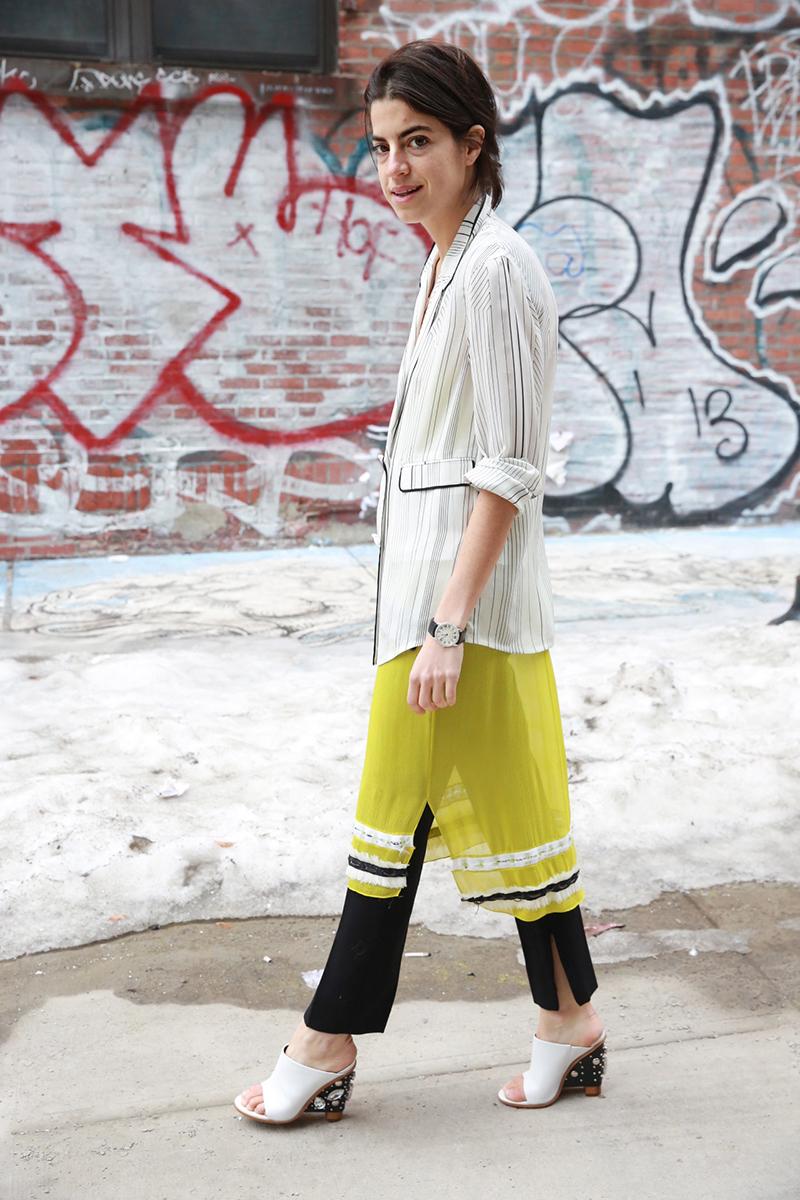 leandra-medine-dress-over-pants