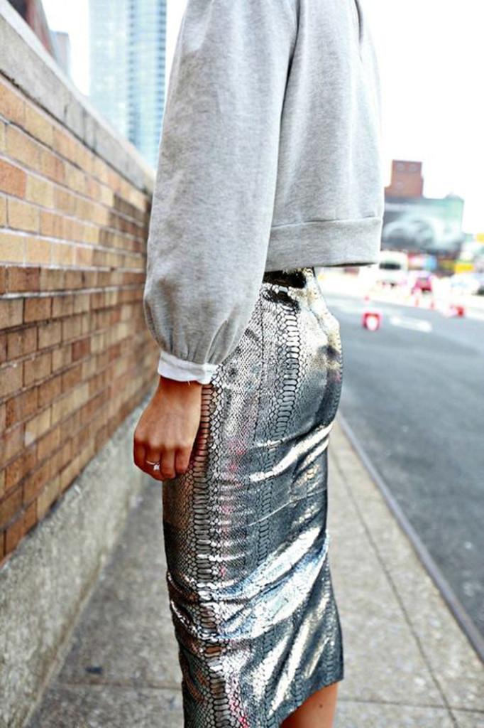 street-style-metallic-skirt-2