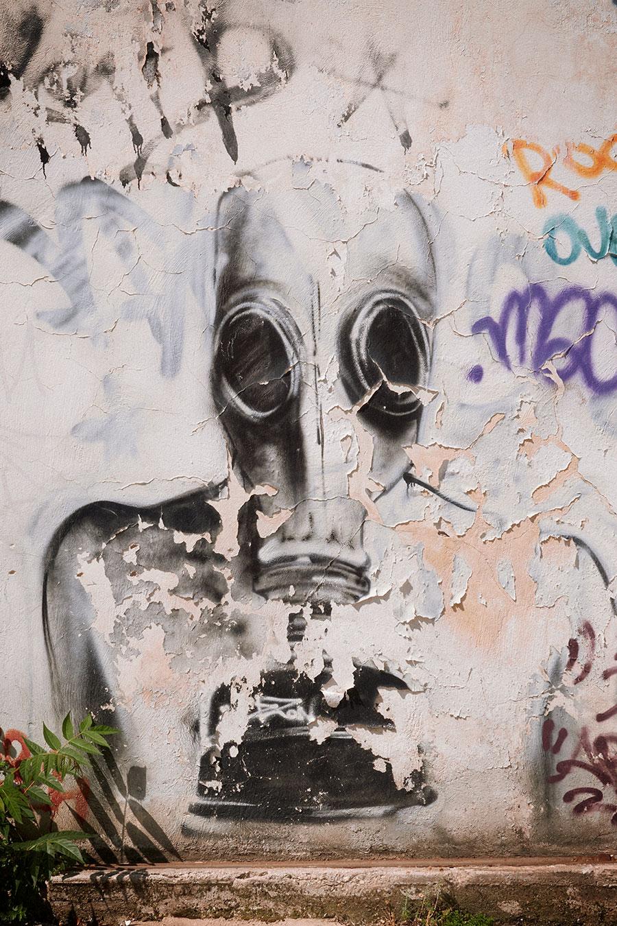 Atenas y sus grafitis