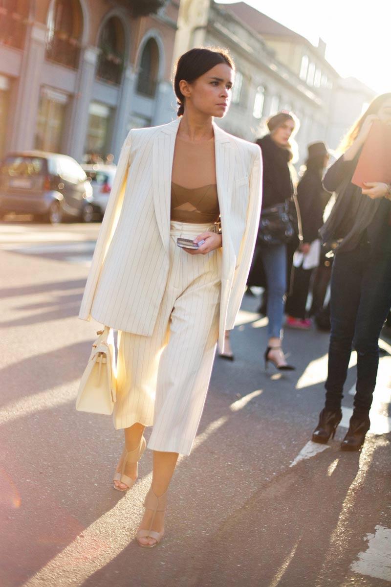 El pantalón culotte, la prenda más cómoda del verano