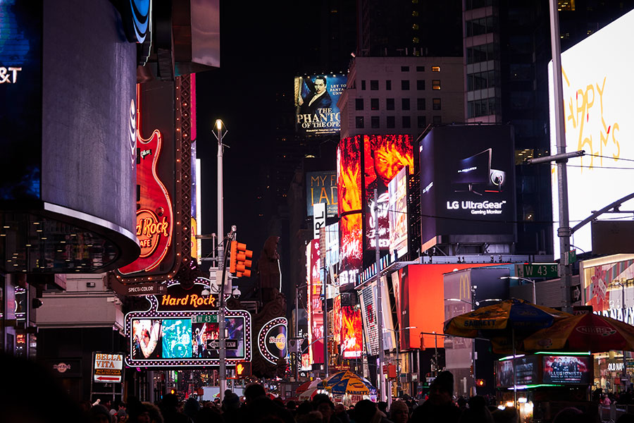 NOCHE EN NUEVA YORK