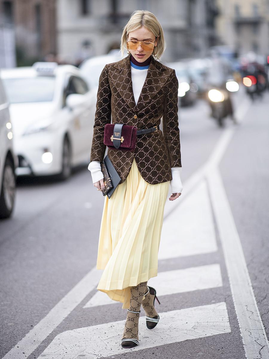 Street Style: February 21 - Milan Fashion Week Fall/Winter 2018/19
